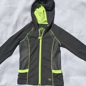 Justice Hoodie Jacket Size 8